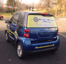 Vehicle Window Graphics and Decals