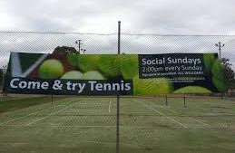 Try Tennis Banner