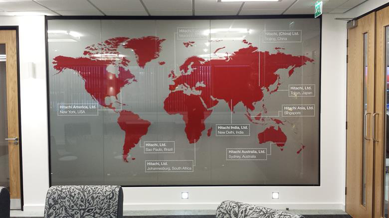 Wall Coverings World Map